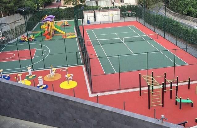 спортивные площадки в Тюмени